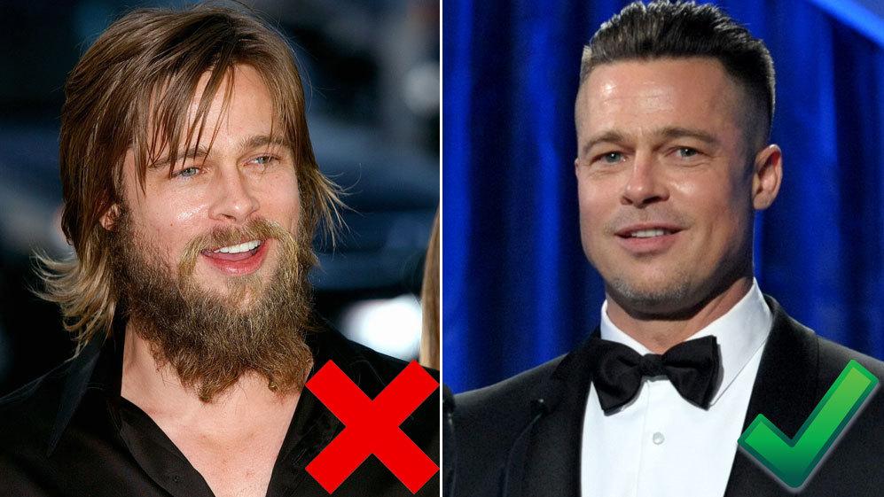 <strong>8. Brad Pitt, 50 años:</strong> Parece que por el actor no...