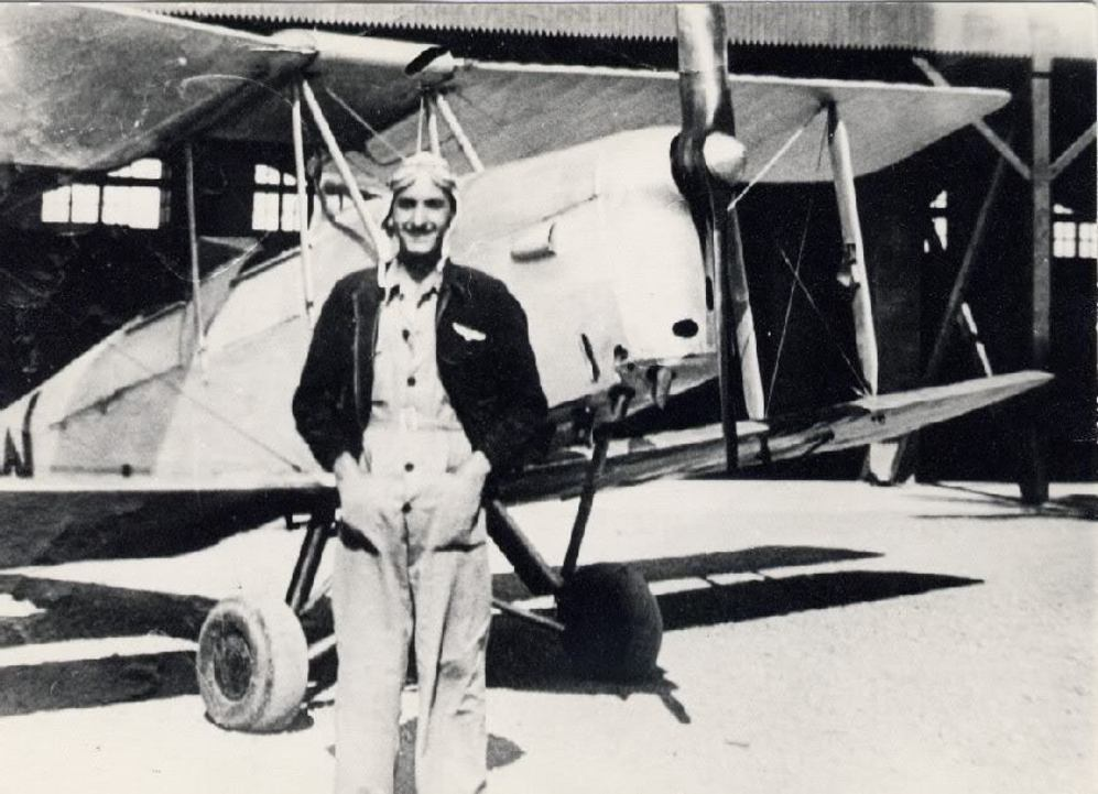 El teniente José Falcó Sanmartín en 1938