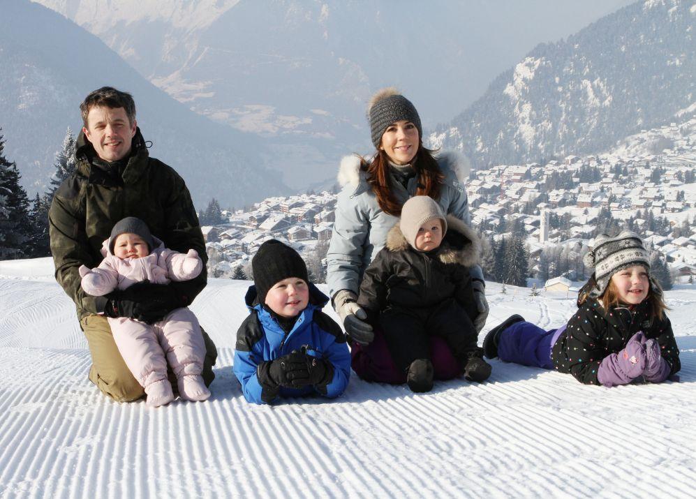 Han disfrutado con sus hijos de vacaciones en la nieve...