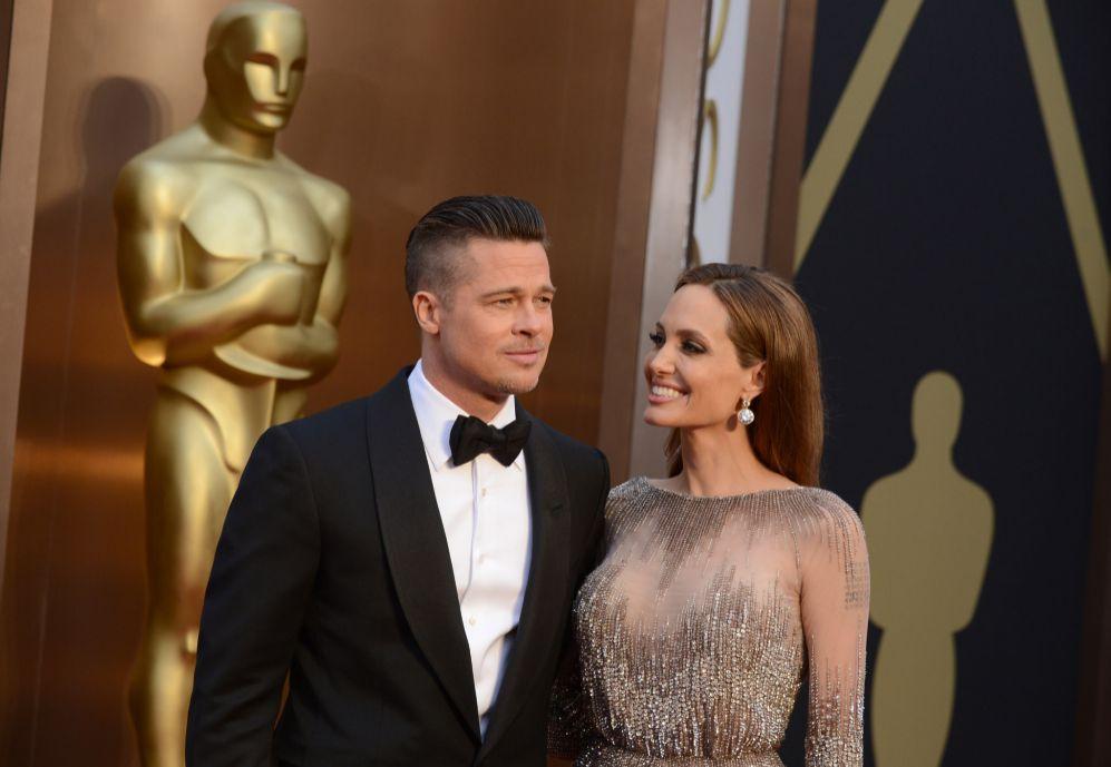 Aunque ya no luce escotes, la actriz soprendió en los premios Oscar...