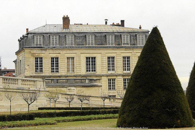 Antigua sede de la Escuela Normal Superior de Sanit-Cloud en Francia.