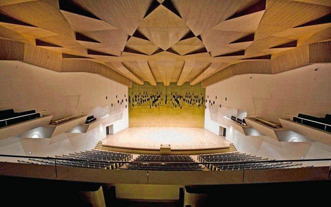 Escenario principal del Auditorio de la Diputación Provincial de...
