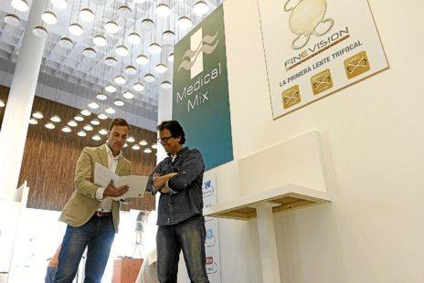 Organizadores del congreso  Secoir 2014, ayer en el ADDA.