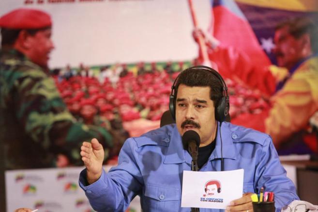 El presidente de Venezuela en su programa 'Contacto con...