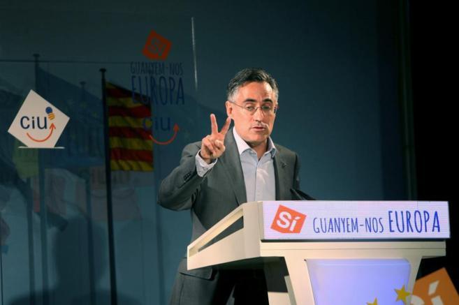 El candidato de CiU a las elecciones europeas, Ramon Tremosa