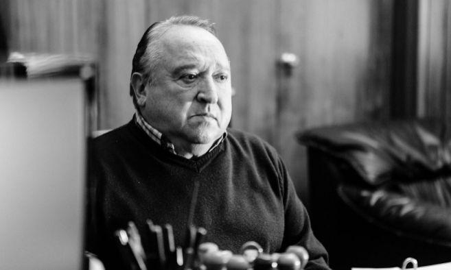 Fernando Esteso, en un fotograma de la película.