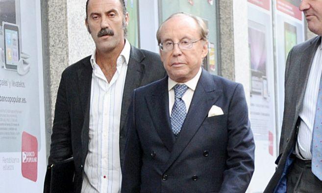 El empresario Ruiz Mateos asistiendo a un juicio en Madrid