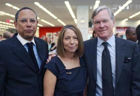 Dean Baquet, Jill Abramson y Bill Keller, en una foto de archivo.