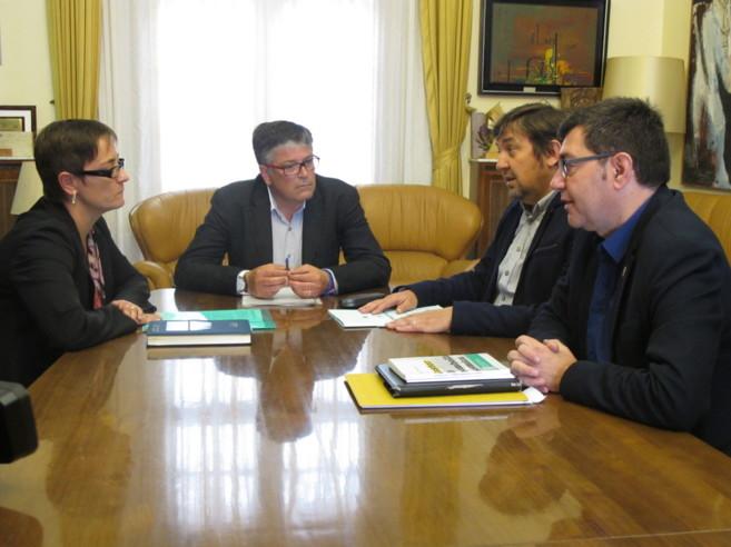 Reunión en Benicarló de algunos Ayuntamientos afectados, este...