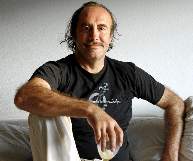 El actor y humorista Pedro Reyes, en su casa durante una entrevista.