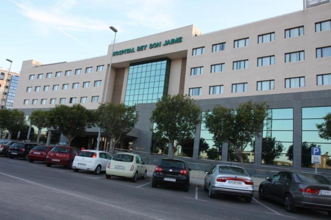 Fachada del Hospital Rey Don Jaime de Castellón.
