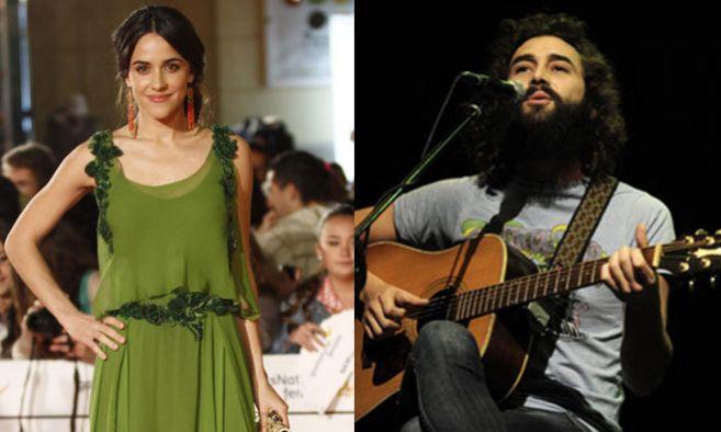 Macarena García y su novio el guitarrista del grupo 84 llevaban dos...