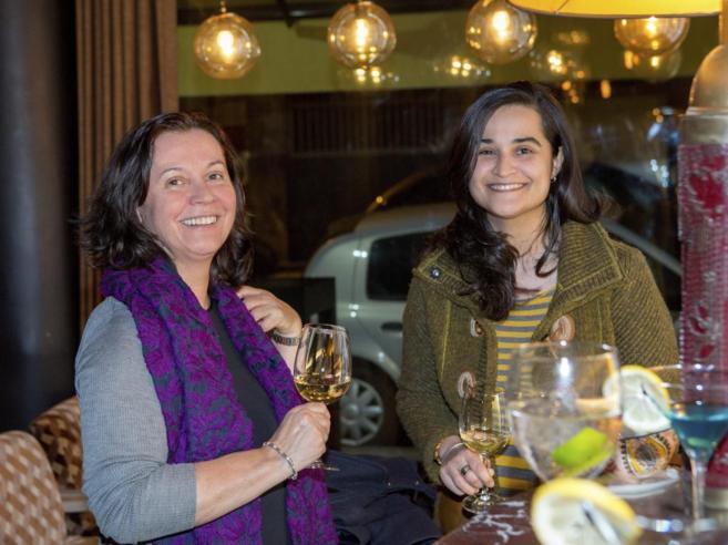 María Montserrat González y su hija Montserrat Triana Martínez