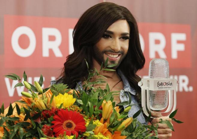 La ganadora de Eurovisión.