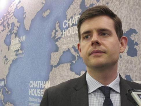 Matthew Goodwin, profesor de Políticas en la U. de Nottingham.