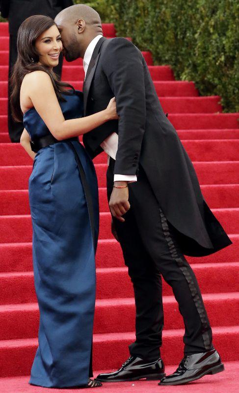 Kim Kardashian y Kanye West, la semana pasada en la gala del MET.