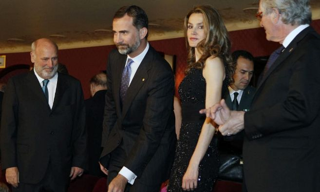Los Príncipes de Asturias y de Girona, el 30 de mayo de 2013, cuando...