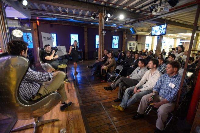 Uno de los eventos del programa, en Quirky, una plataforma de...