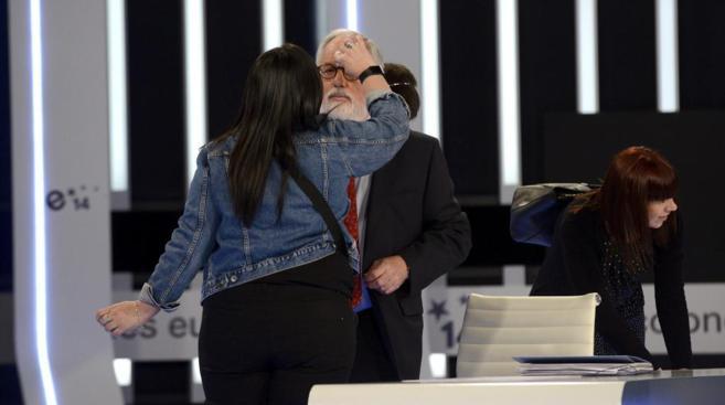 El cabeza de lista del PP a las elecciones europeas, Miguel Arias...