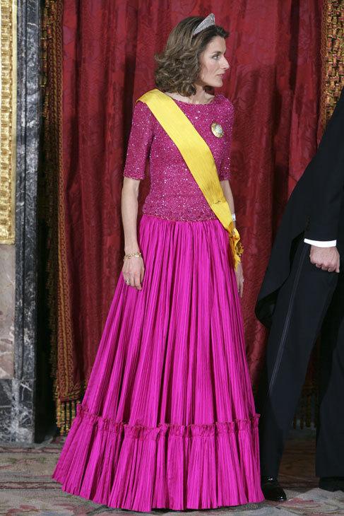 El rosa fucsia también estuvo de moda hace varias temporadas, en...