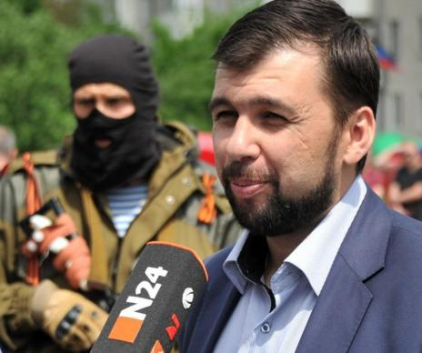 El 'jefe de Estado' de Donetsk, Denis Pushilin.
