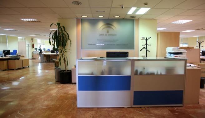Las oficinas de la empresa Sandetel en el Edificio Empresarial...