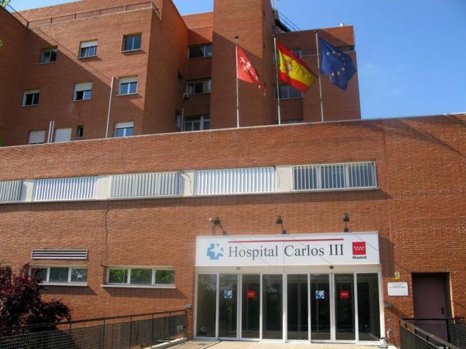 Fachada del Hospital Carlos III