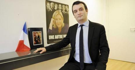 Florian Philippot, de 34 años, se declara fan de De Gaulle: «Jamás...
