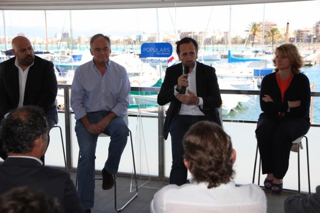 Jaime Martínez, González Pons, José Ramón Bauzá y Rosa Estarás...