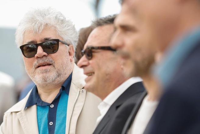 El cineasta y productor Pedro Almodovar, durante el photocall de...