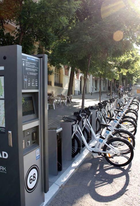 Imagen de las bicicletas que se podrán alquilar