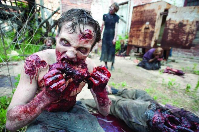 Fotograma de la serie 'Walking Dead'