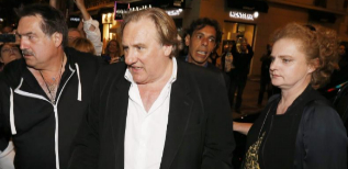 Gerard Depardieu, antes de la proyección de 'Welcome to New York' en...