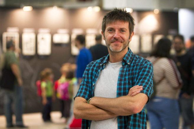 Paco Roca, en el Salón del Cómic de Barcelona, celebrado esta...