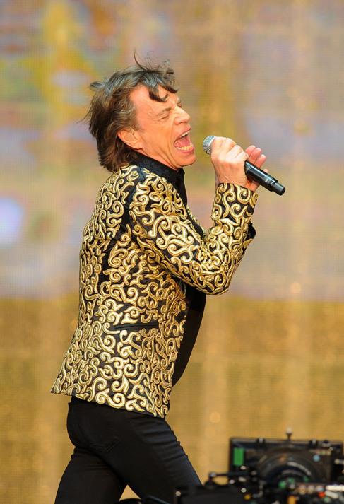 Jagger, el año pasado en un concierto.