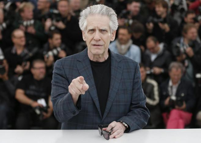 David Cronenberg, en Cannes.
