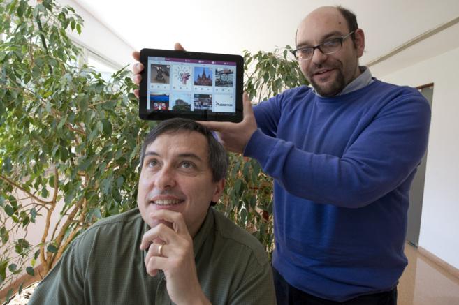 Ariel Amato y Ángel Sappa, creadores de la red social alternativa...