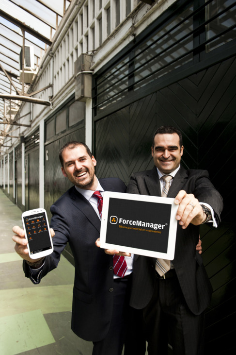 Óscar Macià y Xavier Bisbal, fundadores de Forcemanager.
