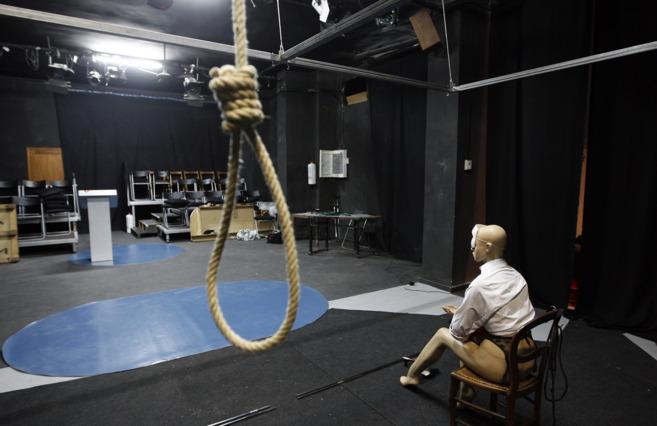 Imagen de archivo de una escenografía del teatro Círculo de...
