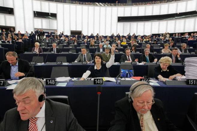 Sesión plenaria en el Parlamento Europeo