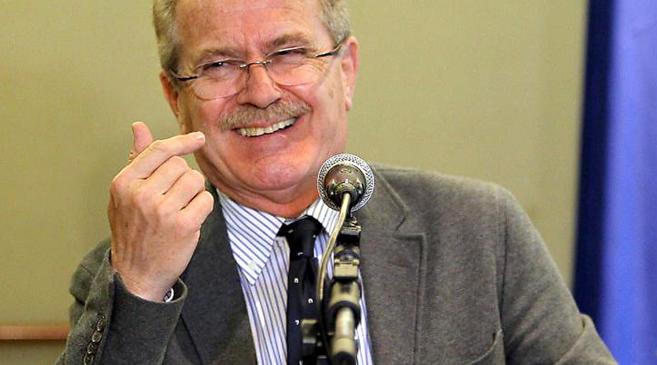 Luis Yáñez, durante un viaje a Paraguay en el que el eurodiputado...