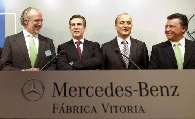 Emilio Titos, José Luis López-Schümmerso, Bernabé Unda y Miguel...