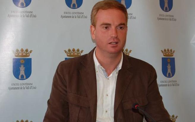 El alcalde de La Vall, Óscar Clavell.