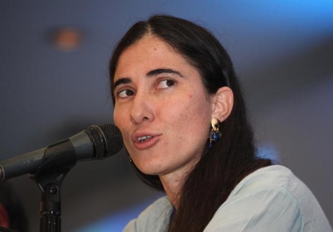 La bloguera Yoani Sánchez.
