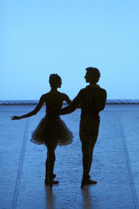 Un momento de una de las coreografías que se presentan el sábado.