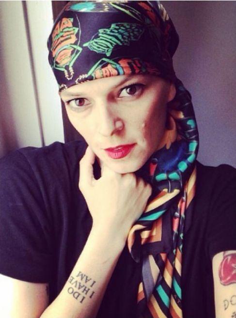 La cantante y modelo, en una foto compartida en su Instagram.
