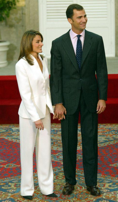 El día de su pedida de mano, en noviembre de 2003, la futura Princesa...