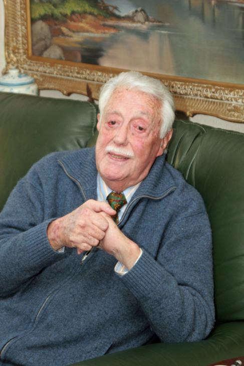Jaime Blanco, presidente de Honor y fundador de la insitución