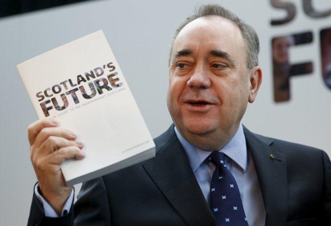 El ministro principal de Escocia, Alex Salmond, en Glasgow.
