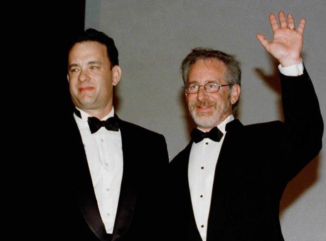 Tom Hanks y Steven Spielberg